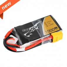 TATTU 1000mAh 7.4V 45C 2S1P Lipo Battery Pack